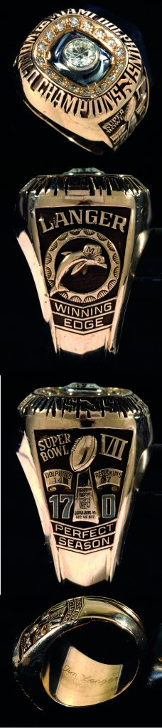 1972 Dolphins Super Bowl ring