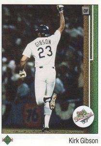 Kirk Gibson 1989 Upper Deck 666