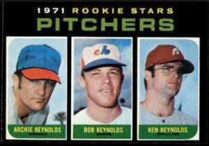 1971 Topps Archie Bob Ken Reynolds