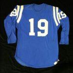 Game-worn Johnny Unitas jersey