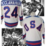 Miracle On Ice Jersey Rob McClanahan