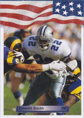 Emmitt Smith 1992 AW Sports