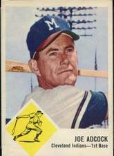 Joe Adcock 1963 Fleer