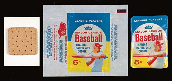 1963 Fleer Baseball Wrapper Cookies