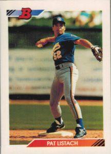 Pat Listach 1992 Bowman rookie card