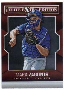 2014 Elite Extra Max Zagunis base card