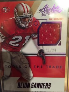 2014 Absolute Deion Sanders Tools of the Trade
