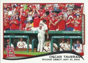 2014 Oscar Taveras Topps Rookie Debut