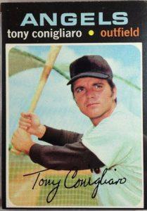 Tony Conigliaro 1971 Topps