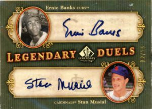 Banks-Musial 2005 Legendary Cuts auto