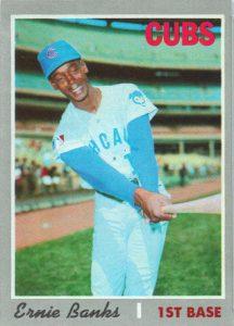 Ernie Banks 1970 Topps