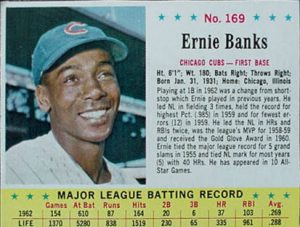 Ernie Banks 1963 Jello