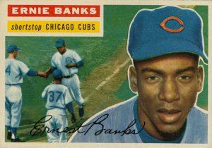 Ernie Banks 1956 Topps