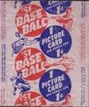 1951 Bowman baseball wrapper