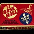 1951 Bowman Baseball display box