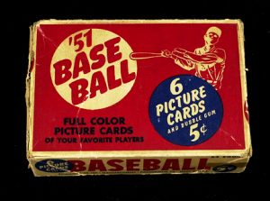 1951 Bowman Baseball display box