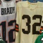 Game-worn NFL jerseys