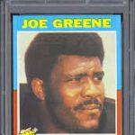 Joe Greene 1971 Topps rookie card
