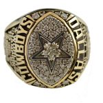 Super Bowl XXVII ring Erik Williams