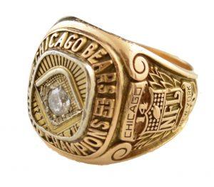 1963 Chicago Bears NFL Championship ring