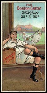 1912 Boston Garter Christy Mathewson