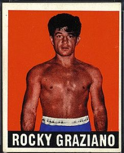 1948 Leaf #50 Rocky Graziano