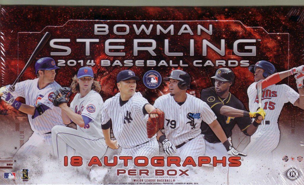Bowman Sterling 2014 hobby box baseball