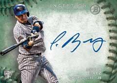 2015 Bowman Inception Baseball Origins Auto