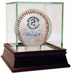 Derek Jeter game-used autographed baseball