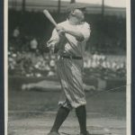 1920 Babe Ruth news photo