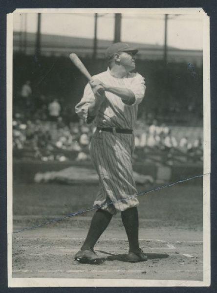 1920 Babe Ruth news photo