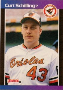 Curt Schilling 1989 Donruss