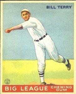 Bill Terry 1933 Goudey
