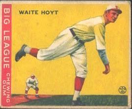 Waite Hoyt 1933 Goudey