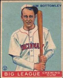 Jim Bottomley 1933 Goudey