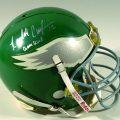 Game-used Randall Cunningham helmet