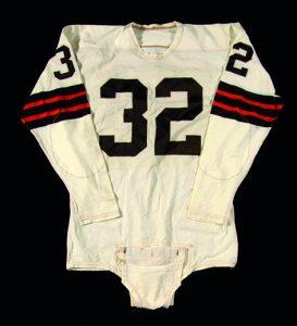 Game-worn-Jim-Brown-jersey