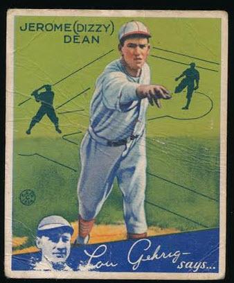 Dizzy Dean 1934 Goudey
