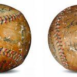 1920 White Sox autographed baseball
