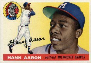 Hank Aaron 1955 Topps