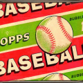 Wax pack 1955 Topps