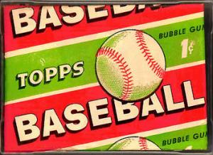 1955 Topps Baseball wax pack