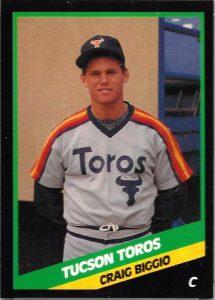 1988 Craig Biggio Tucson Toros card