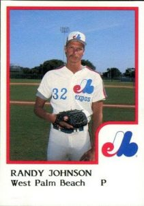 Randy Johnson 1986 ProCards