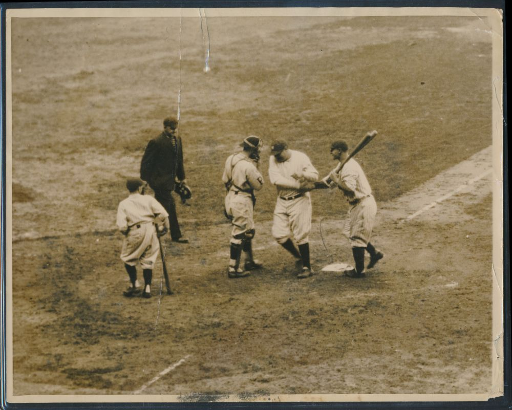 Babe Ruth-Lou Gehrig photo