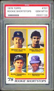 Paul Molitor 1978 Topps PSA 10