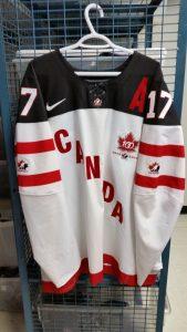 World Juniors Game Jersey Team Canada Connor McDavid
