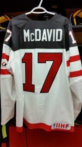 Connor McDavid World Juniors Jersey