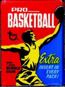 Topps 1971-72 Basketball pack