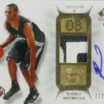 Russell Westbrook rookie auto